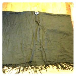 Oversized Pancho scarf wrap from Forever 21 NWOT